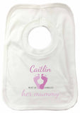 MO02 - Foot Prints Personalised Baby Vest