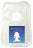 MO03 - Loves You This Much Personalised Baby Vest