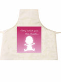 MO03 - Loves You This Much Personalised Apron