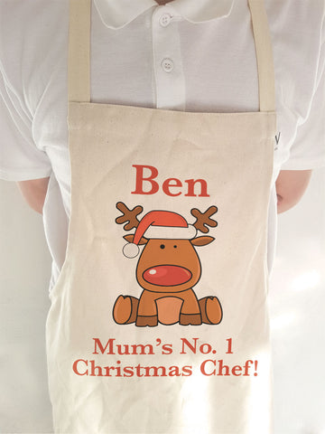 CA03 - Christmas Personalised Cooking Apron