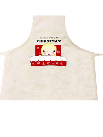 PC02 - Don't Wake (Name) Until Christmas Personalised Apron