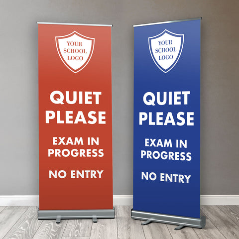 RB01 - School Exam Roller / Popup / Retractable Banner