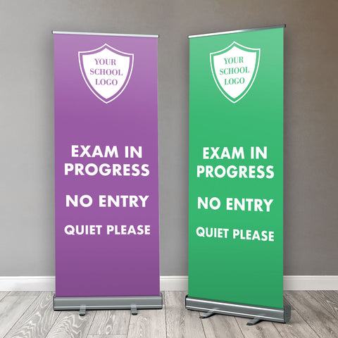 RB02 - School Exam Roller / Popup / Retractable Banner