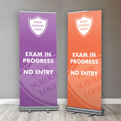 RB04 - School Exam Roller / Popup / Retractable Banner