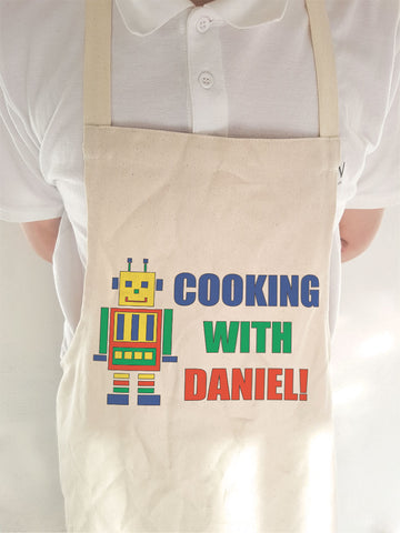 CA10 - Personalised Cooking with (Name) Cooking Apron