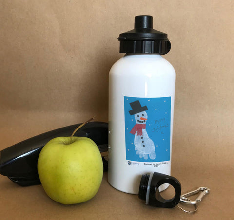 St Peters C of E School Personalised Water Bottles with Child's Drawing