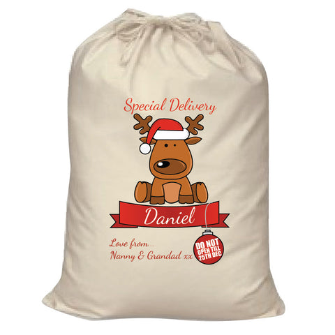 c331d5b3497 SS11 - Special Delivery Santa's Reindeer Personalised Christmas Santa –  Willow Printing & Design