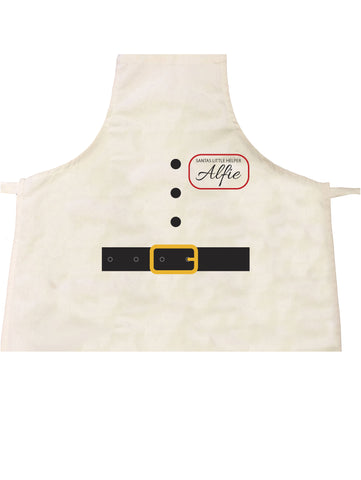 BB14 - Christmas Personalised Santa Suit Apron