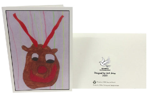 St Austin's R.C. Primary School Personalised Christmas Cards with Child's Drawing