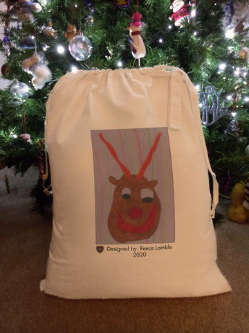 Federation of St Mary's Personalised Santa Sack with Child's Drawing