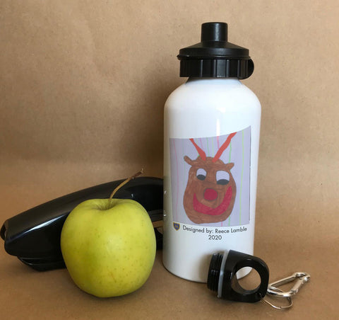 Federation of St Mary's Personalised Water Bottles with Child's Drawing