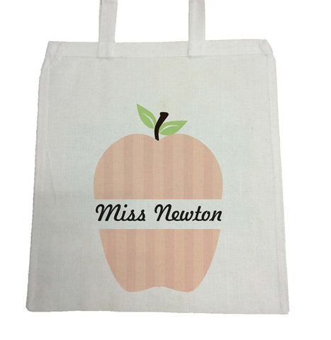 TG02 - Apple Name Canvas Bag for Life