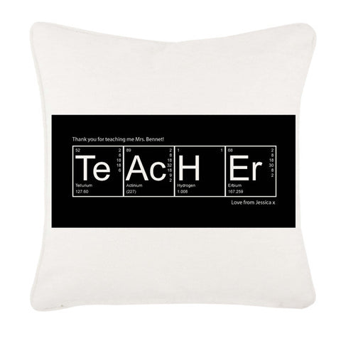 Periodic Table Cushion Cover