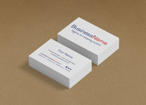 WBP02 - Customised Business Cards from £20+VAT