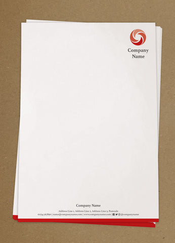 WBP03 - Customised Letterheads from £25+VAT