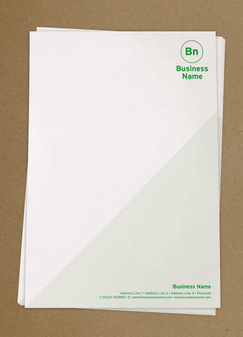 WBP04 - Customised Letterheads from £25+VAT