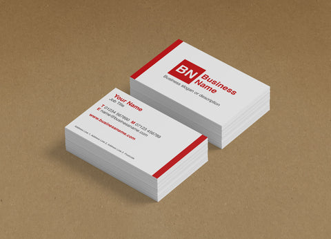 WBP05 - Customised Business Cards from £20+VAT