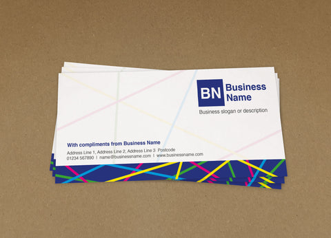 WBP06 - Customised Compliment Slips from £22+VAT