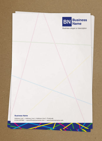 WBP06 - Customised Letterheads from £25+VAT