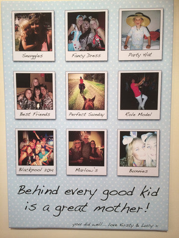 MD01 - Behind Every Good Kid Personalised Canvas