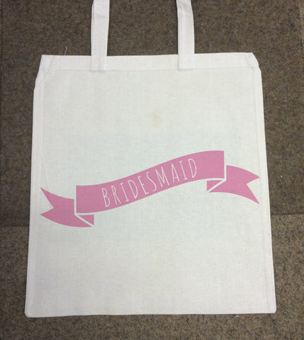 WG01 - Hen Party Canvas Bag for Life