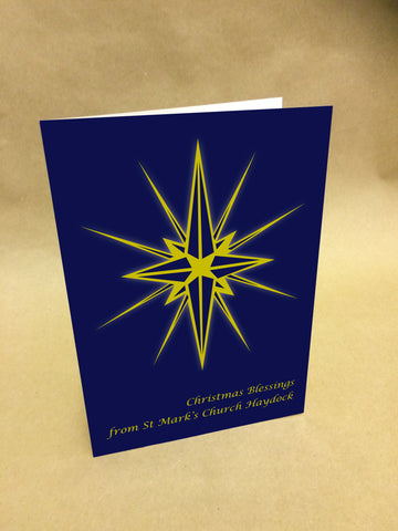 Christmas Cards for Business & Home, Personalised Christmas Blessings