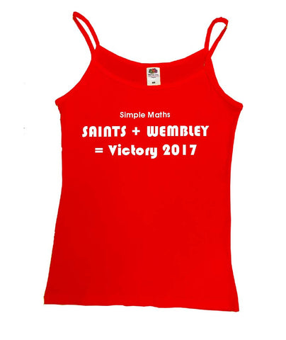 WWS10 - Simple Maths = Saints Vest, example for St Helens RLFC - COYS