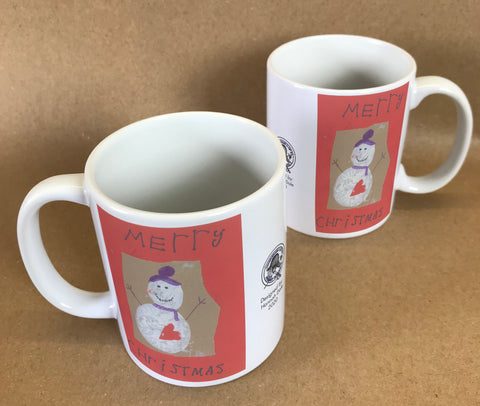 Wargrave C of E Primary School Personalised Mug with Child's Drawing