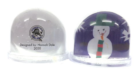Wargrave C of E Primary School Personalised Snow Globe with Child's Drawing
