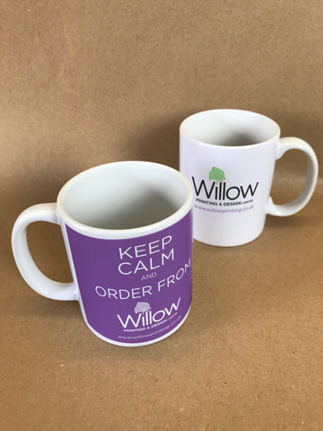 Promotional Branded Company Mugs ideal Giveaways or Brand Awareness