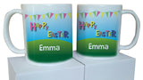 EA05 - Personalised Carnival Easter Mug & White Box