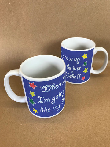 FD04 - Personalised When I Grow Up Mug & White Gift Box