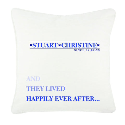 VA3 - And they Lived Happily Ever After Cushion Cover
