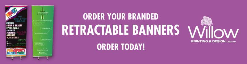 Order your Retractable Banners!