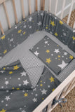 Starry Night Cot Bumper Cover