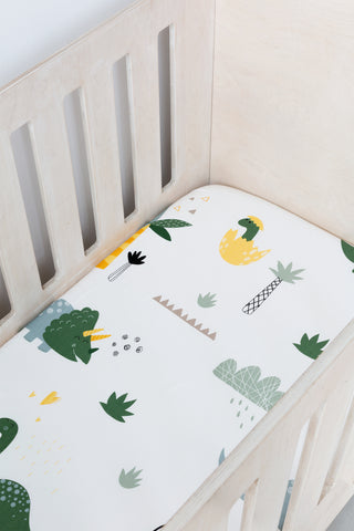 Dinosaurs Cot Fitted Sheet