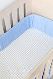 Grid Cot Fitted Sheet