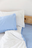 Blue Gingham Duvet