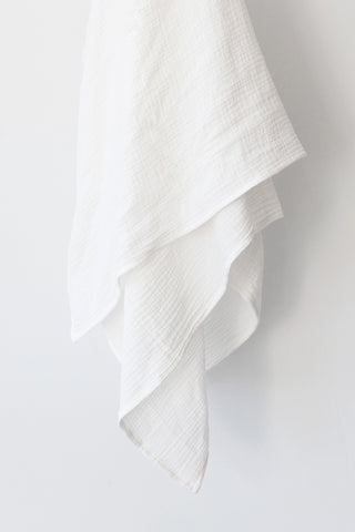 White Muslin Swaddle Blanket