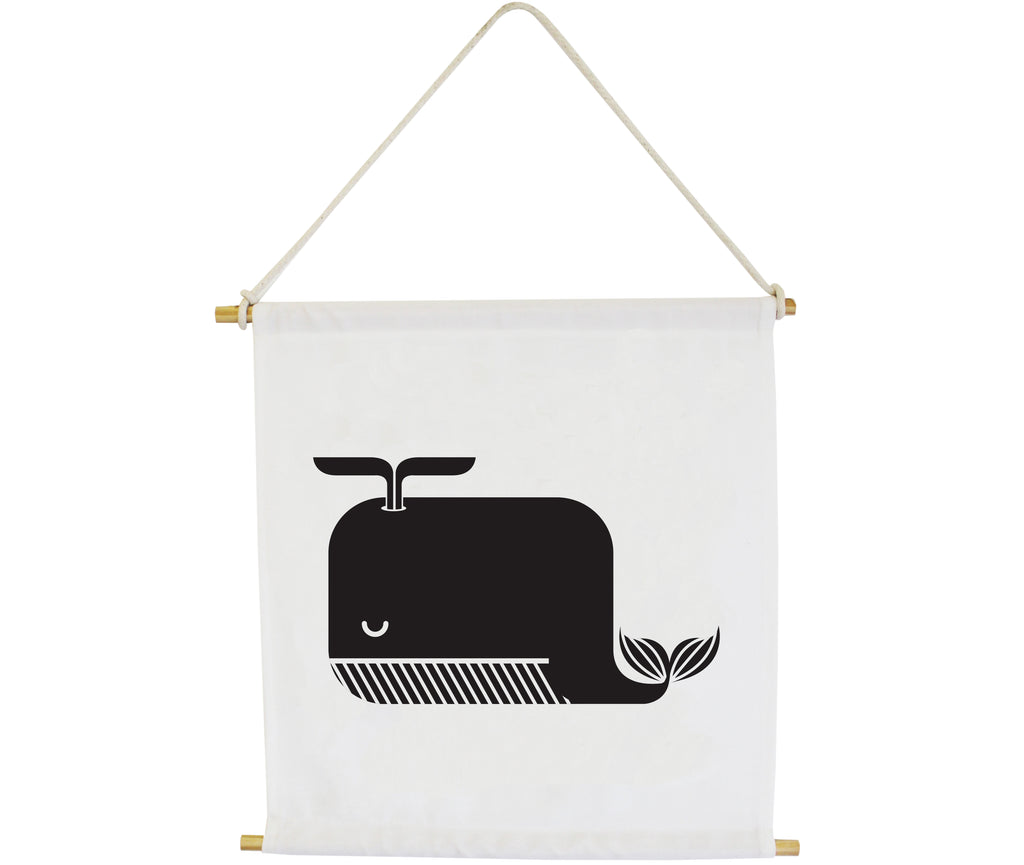 Whale Wall Banner