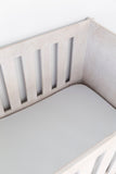 Light Grey Cot Fitted Sheet
