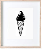 We all scream for Ice-cream Print