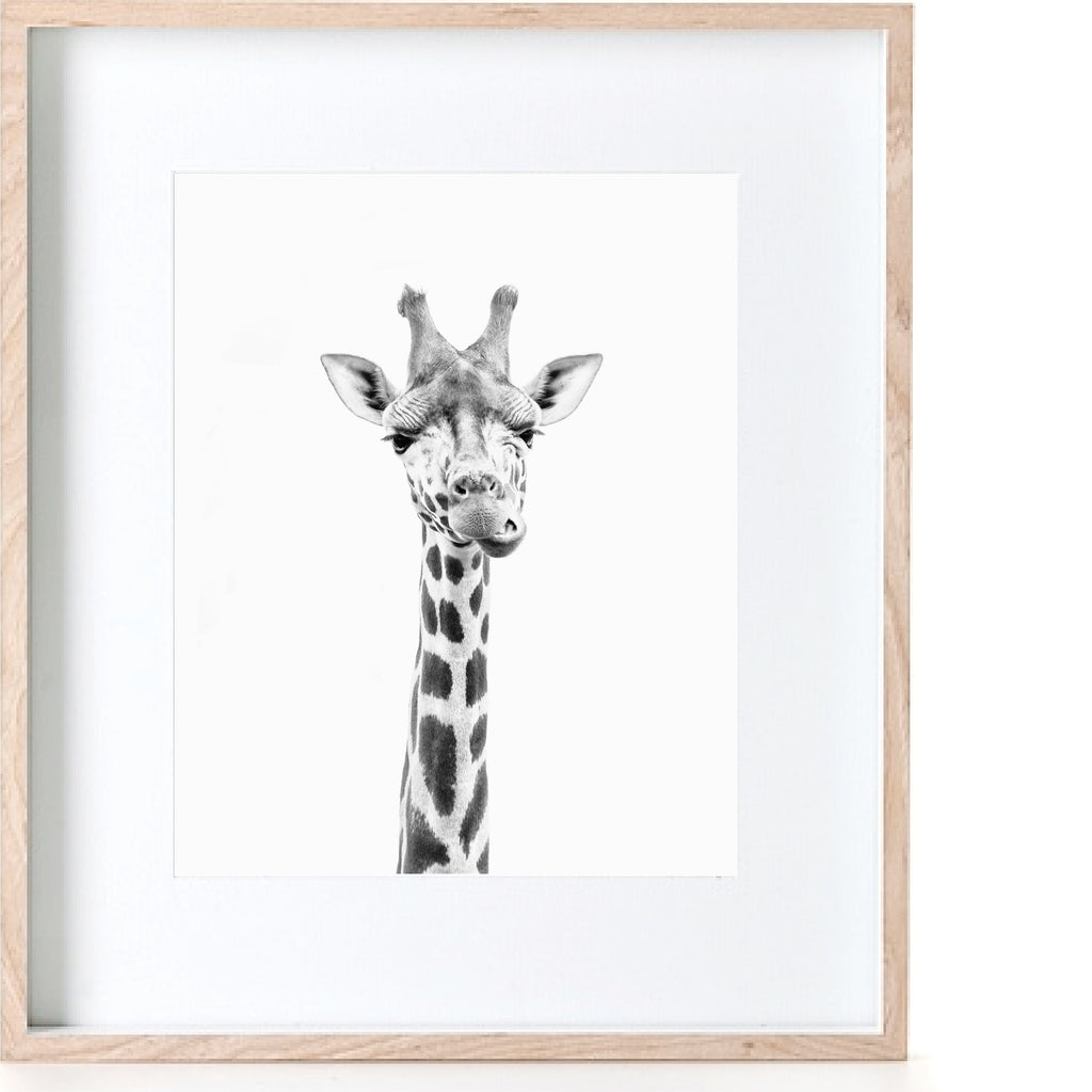 Photographic Giraffe Print