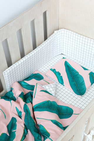 Palm Leaf Cot Duvet