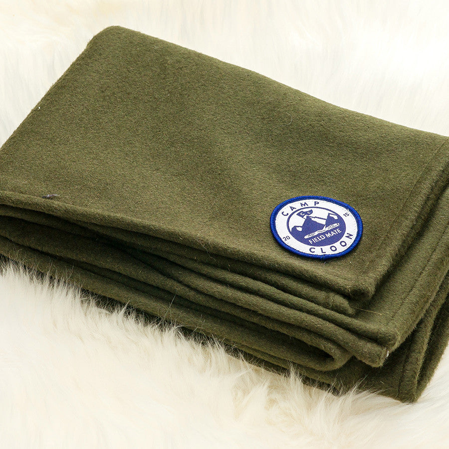 Hunter Cashmere Campfire Blanket