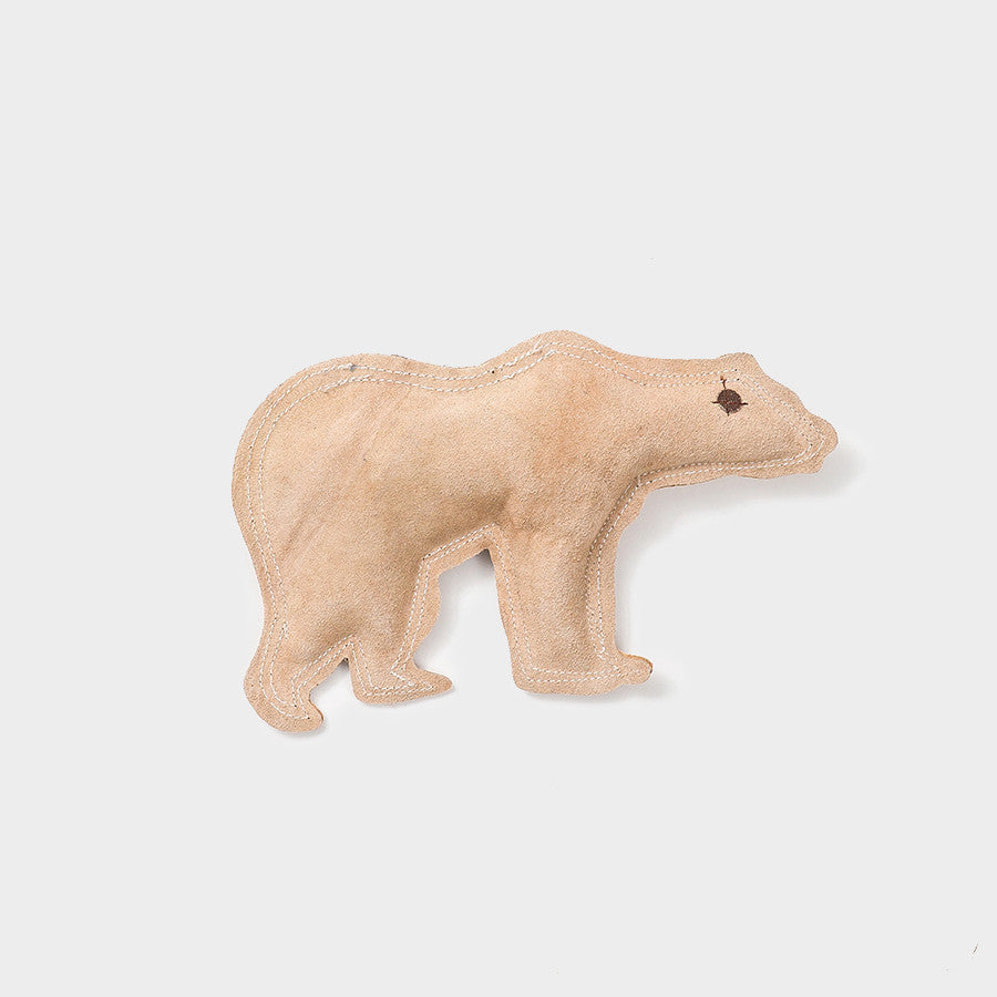 Brown Bear Leather Toy