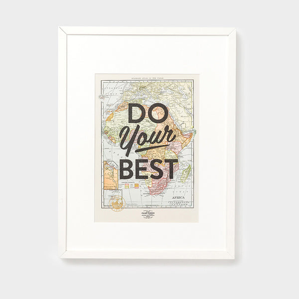Do Your Best A3 Print