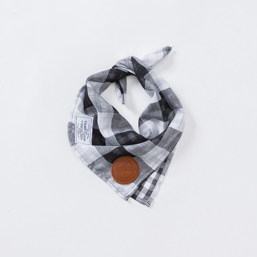 Flint Reversible Check Neckerchief