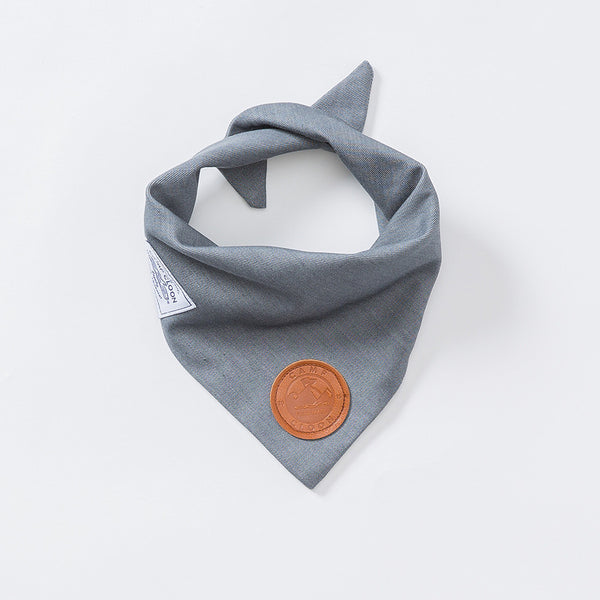 Gunpowder Denim Neckerchief