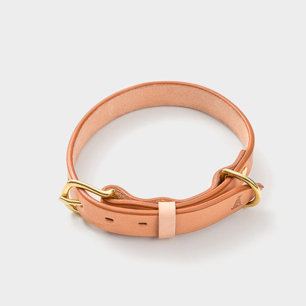 Leather Collar — Fawn